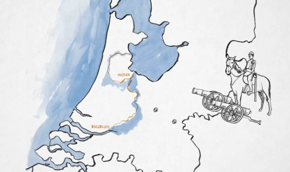 Animatie Hollandse Waterlinies